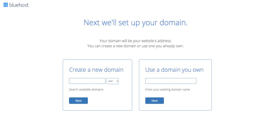 Set Up a Domain