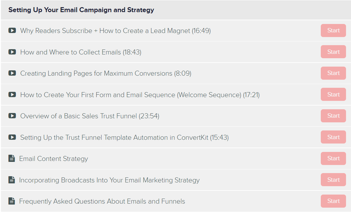 Setting up your email campaign and strategy