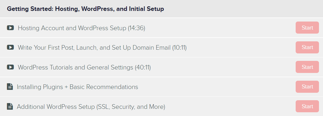 Getting started with WordPress and setup