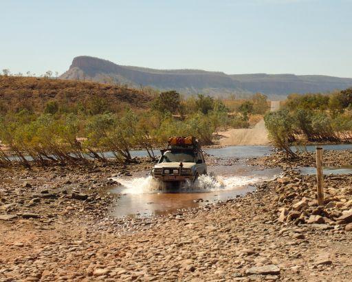 Pentecost River Crossing