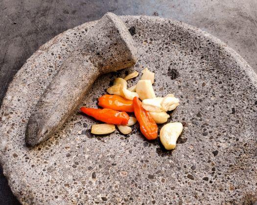 sesame tempeh sambal