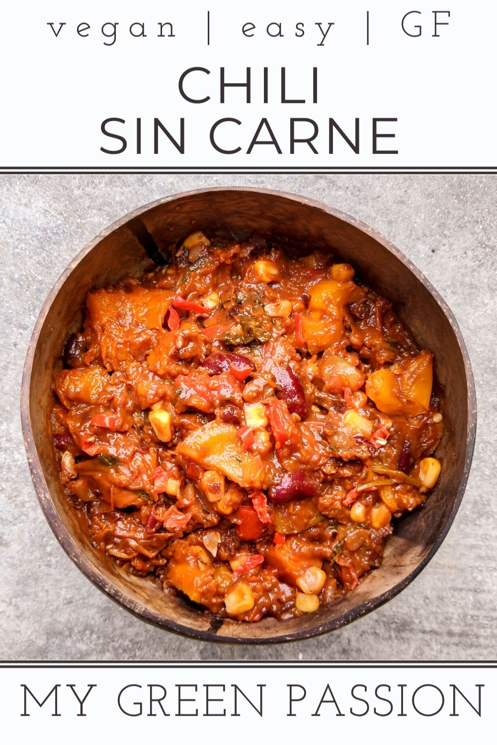 meatless chili con carne vegan easy gluten free