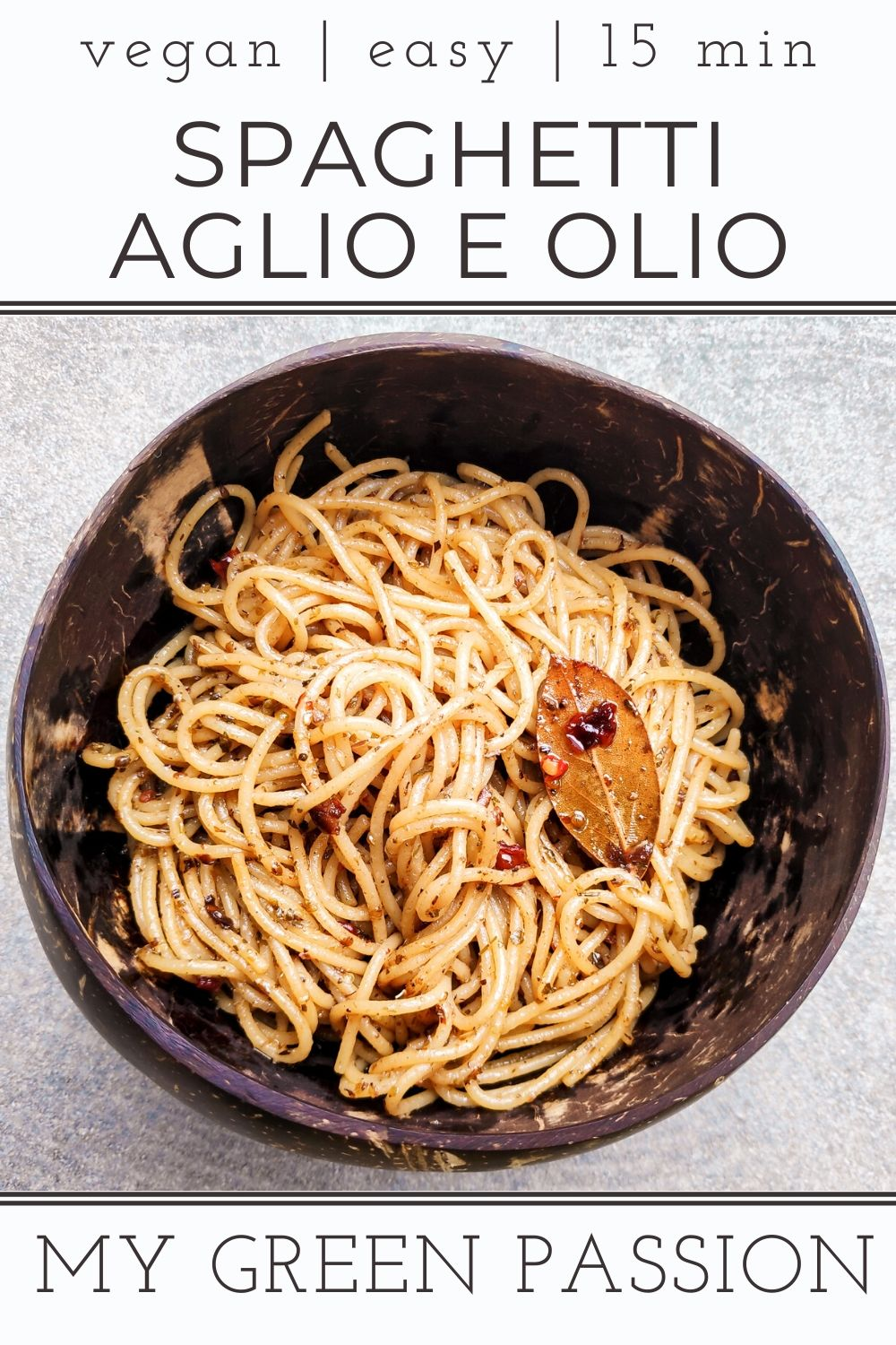vegan spaghetti aglio e olio easy vegan quick 15 minute recipe