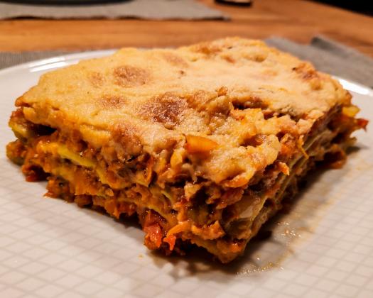 the best vegan lasagna bolognese